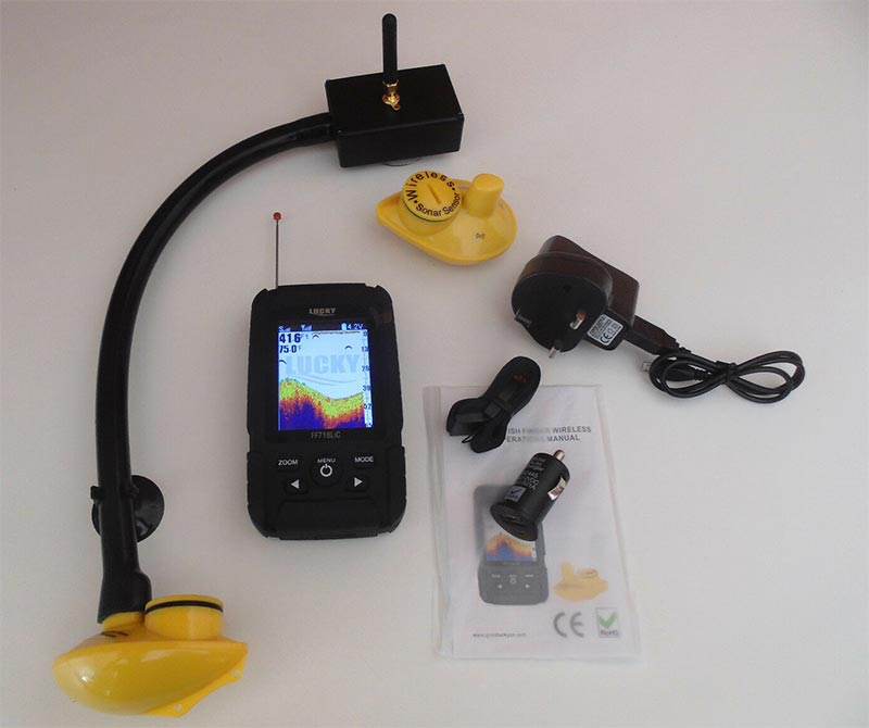 Universal Fish Finder For Bait Boats