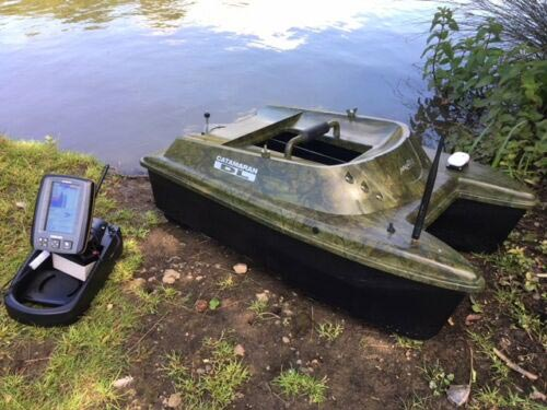 Anatec Catamaran Bait Boat with Fish Finder