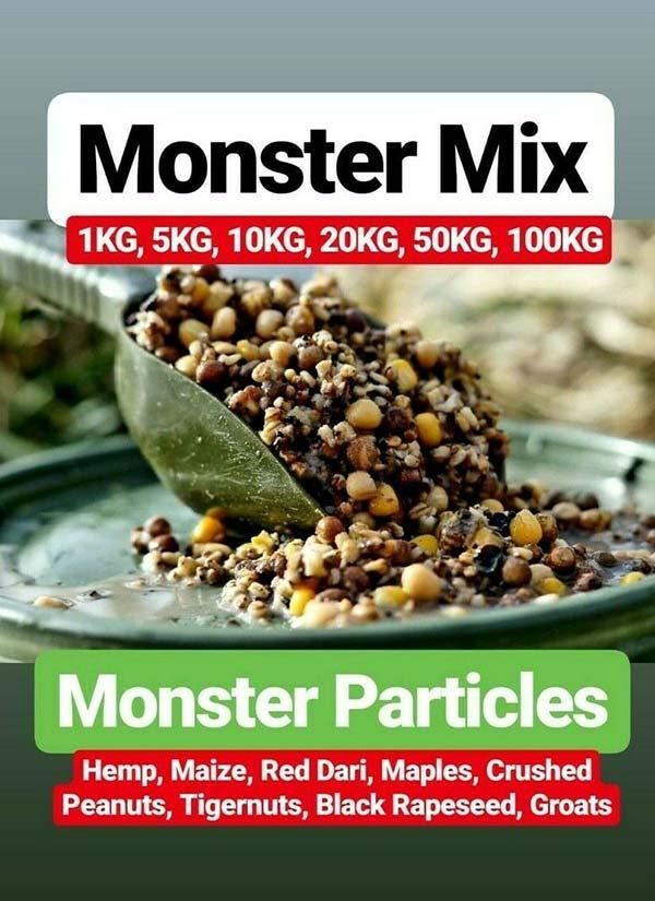 Cheap carp bait monster mix