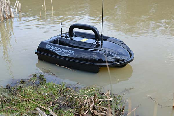 Waverunner bait boat with fish finder