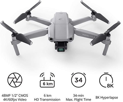 DJI Mavic Air 2 Fishing Drone
