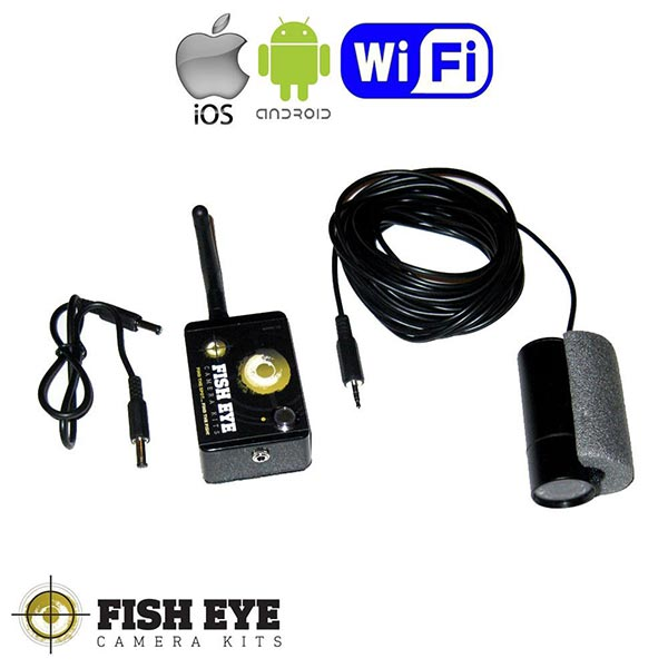 Fish EyE Wi-Fi Camera Kit For Bait Boats